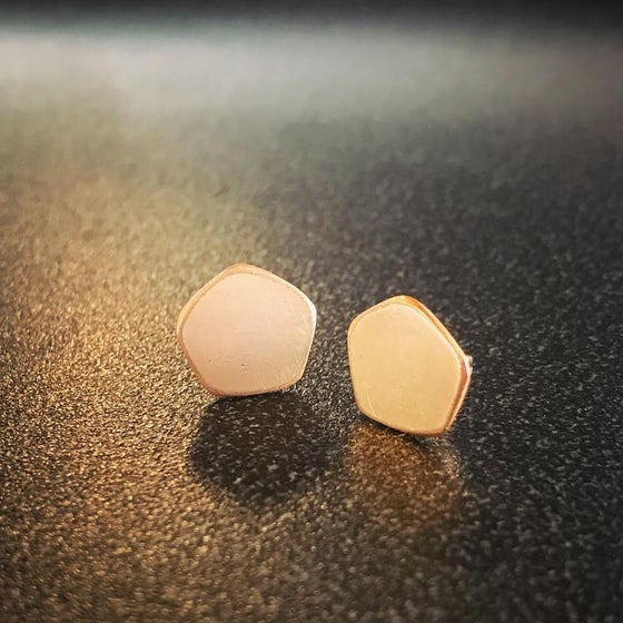 Image of Solid Gold Studs