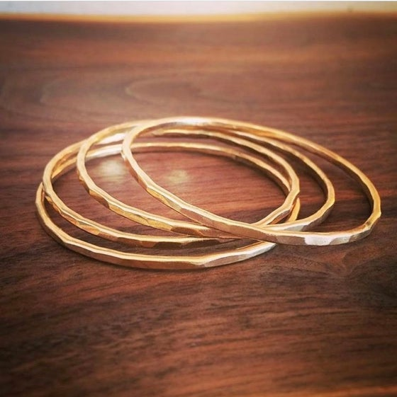 Image of Solid Gold Bangles