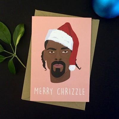 Image of Snoop Christmas Card