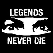 "Image of Charles Manson ""Legends Never Die"" Tee"