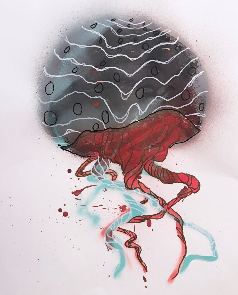 Image of Jellyfish Painting- 02