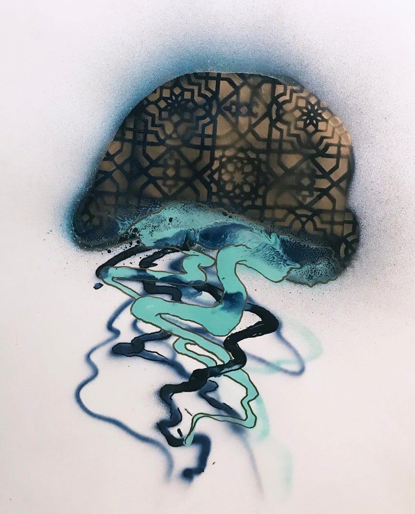 Image of Jellyfish Painting- 04