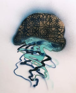 Image of Jellyfish Painting- 04