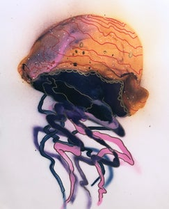 Image of Jellyfish Painting- 06