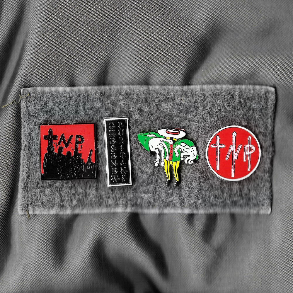 Image of SET OF ALL FOUR PIN BADGES