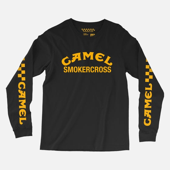 Image of CAMEL SMOKERCROSS L/S TEE BLACK