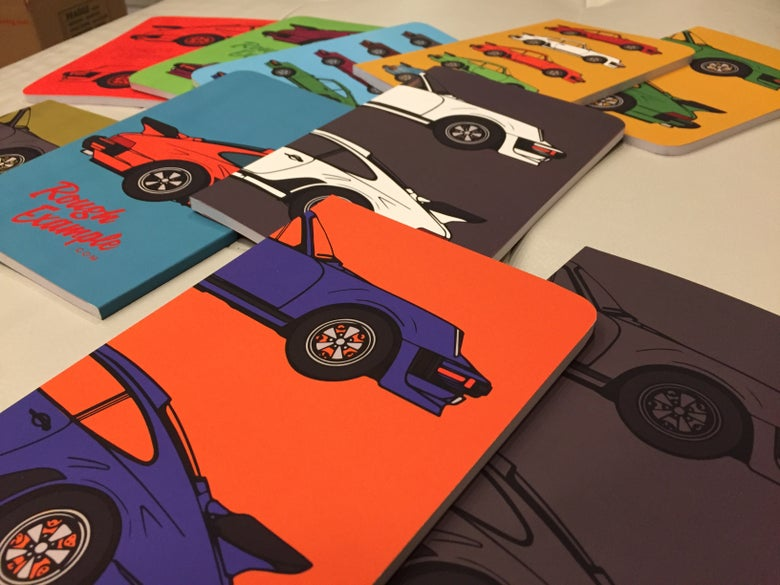 Image of Porsche Double Stack Notebook