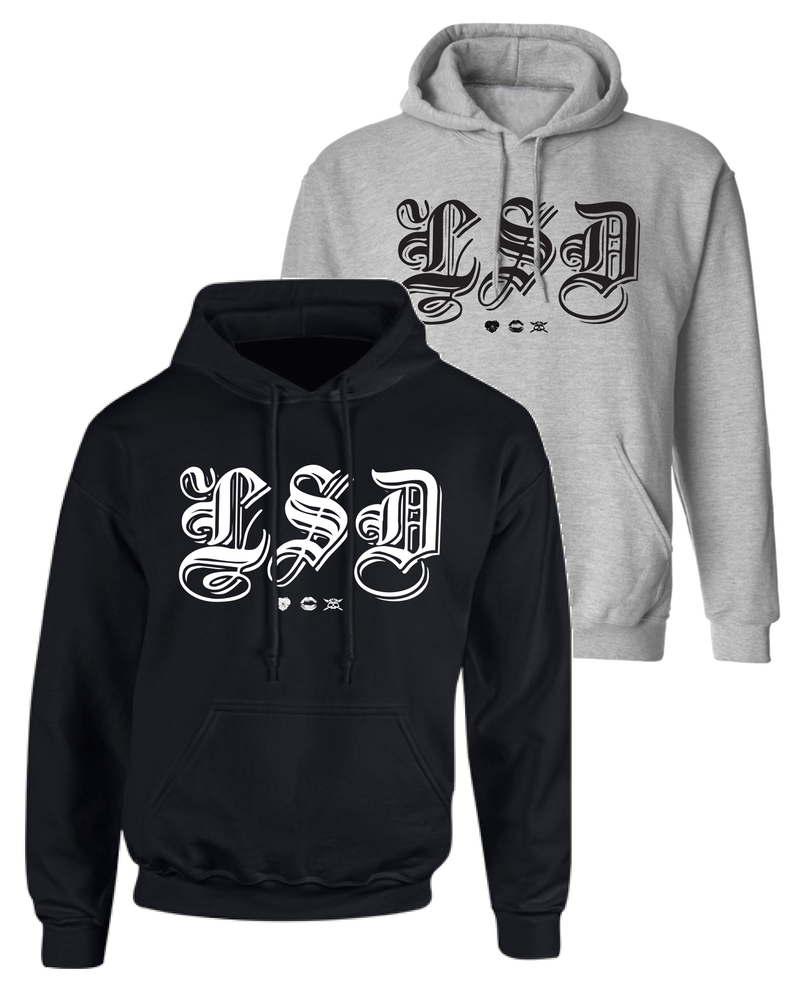 """Image of LSD """"Old E"""" Pullover Hoodie"""