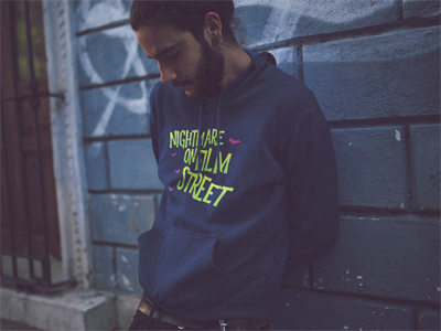 Image of Nightmare on Film Street Hoodie (Unisex)