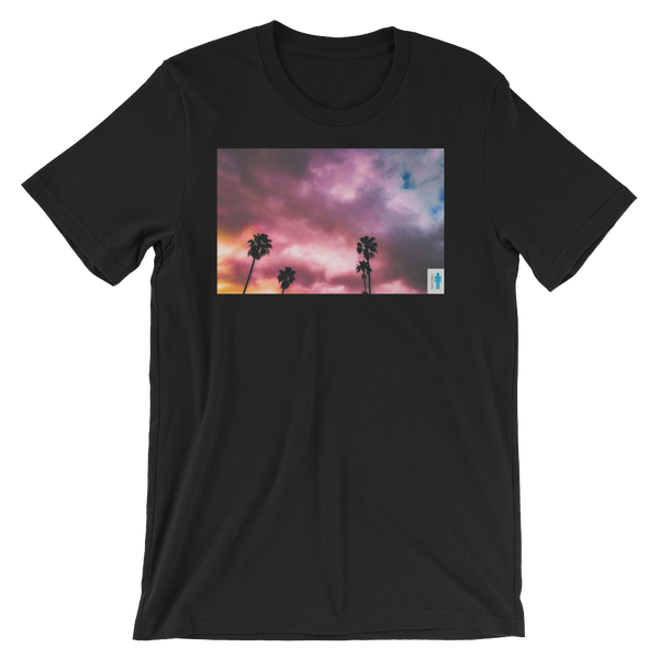 """Image of """"Palms and Perp"""" Limited T-Shirt. (Black)"""