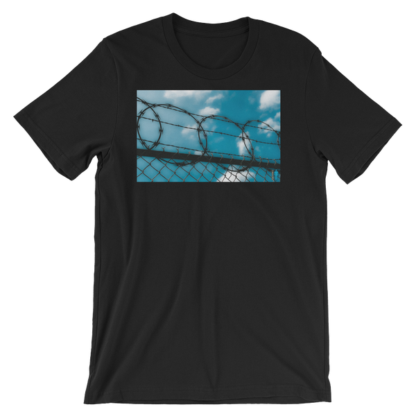 """Image of """"Cage In"""" Limited Edition T-Shirt. (Black)"""