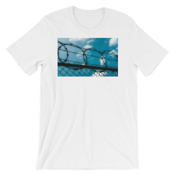 """Image of """"Cage In"""" Limited Edition T-Shirt. (White)"""
