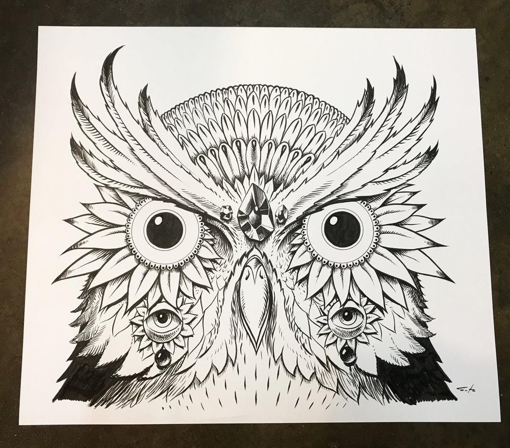 Image of Pearl Jam Owl Original