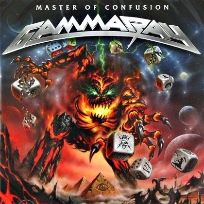 Image of GAMMA RAY - Master Of Confusion - Edition CD Jewelcase