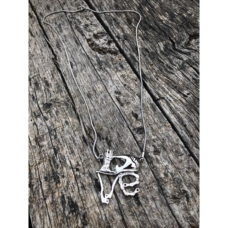 Image of Love Moto Necklace