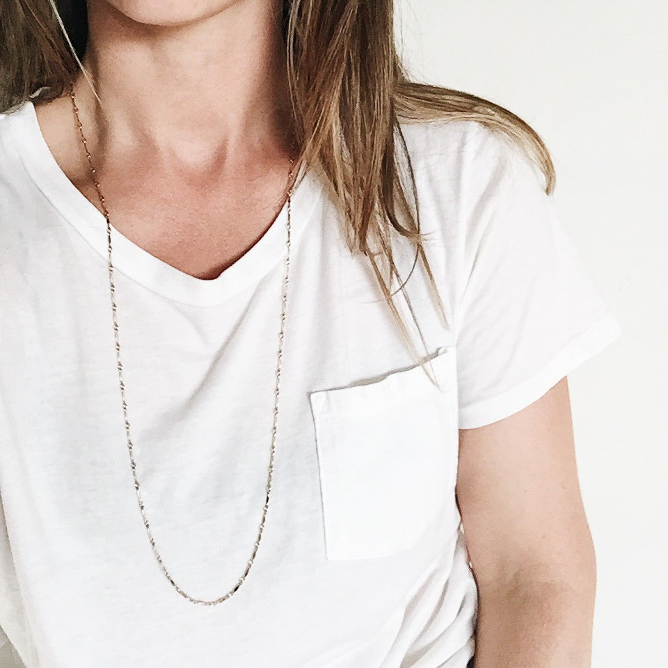 Image of Long/short Chain Necklace