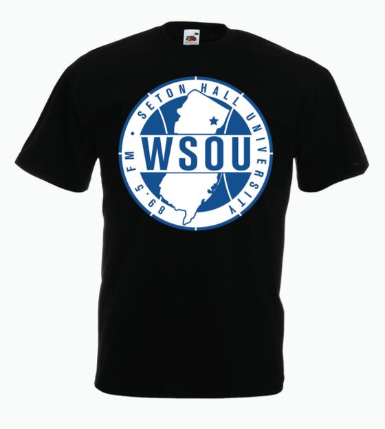 Image of WSOU Sports Tee- Black