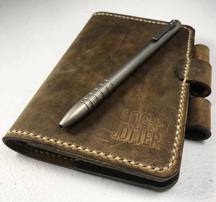 Image of Man Belt Notebook Cover