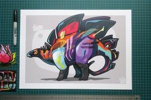 Image of STEG A3 Art Print
