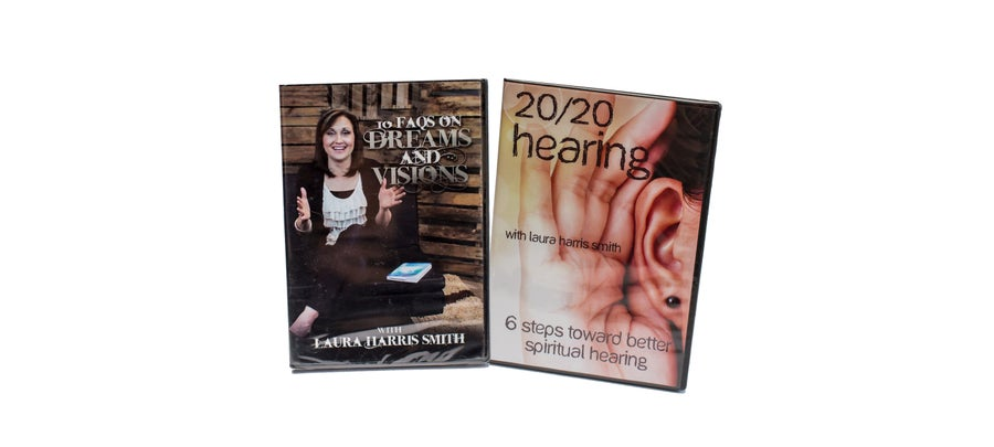 Image of 20/20 HEARING CD SET + 10 FAQS ON DREAMS AND VISIONS DVD