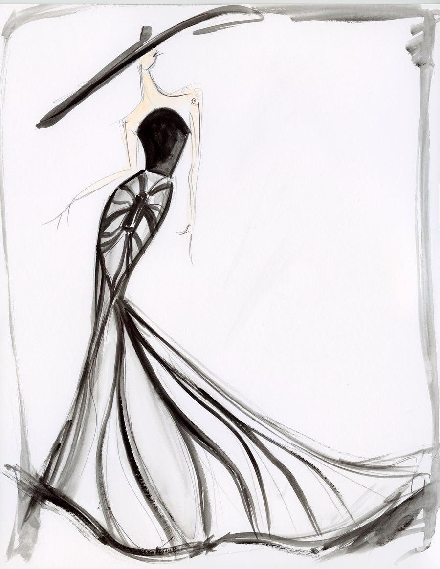 """Image of """"Coco Deco"""" - Sketch Print"""