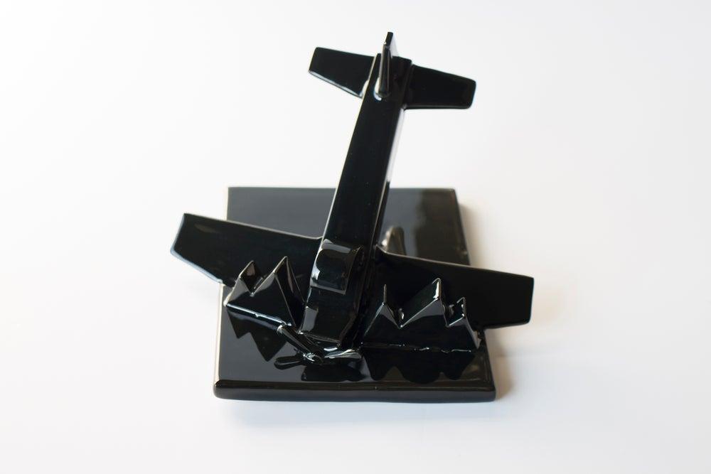 Image of Fallen Bird Porcelain Sculpture