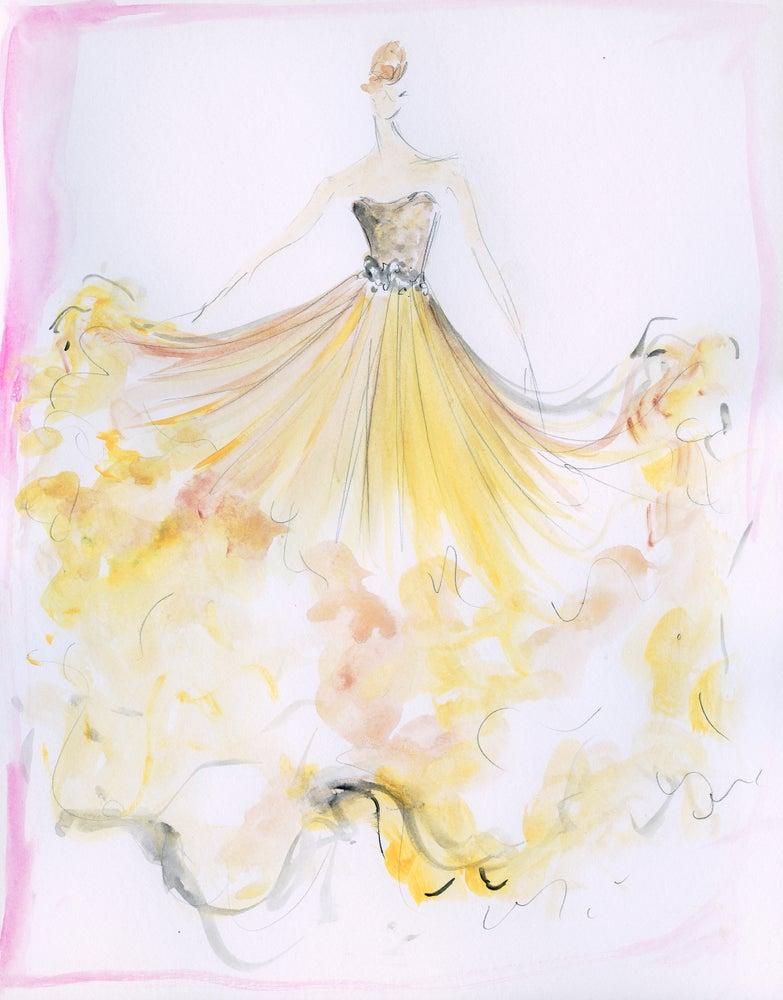 "Image of ""Sweet Swift"" Sketch Print"