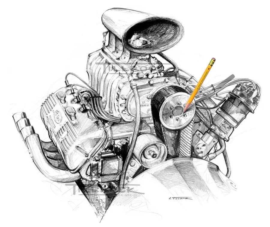 """Image of """"Bounty SOHC"""" 11x17"""