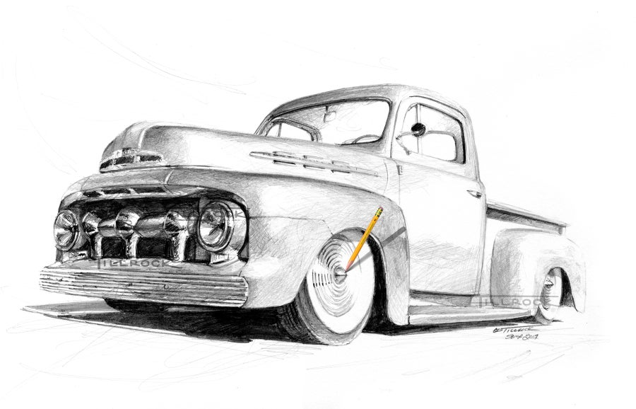 "Image of ""51 Ford Pickup"""