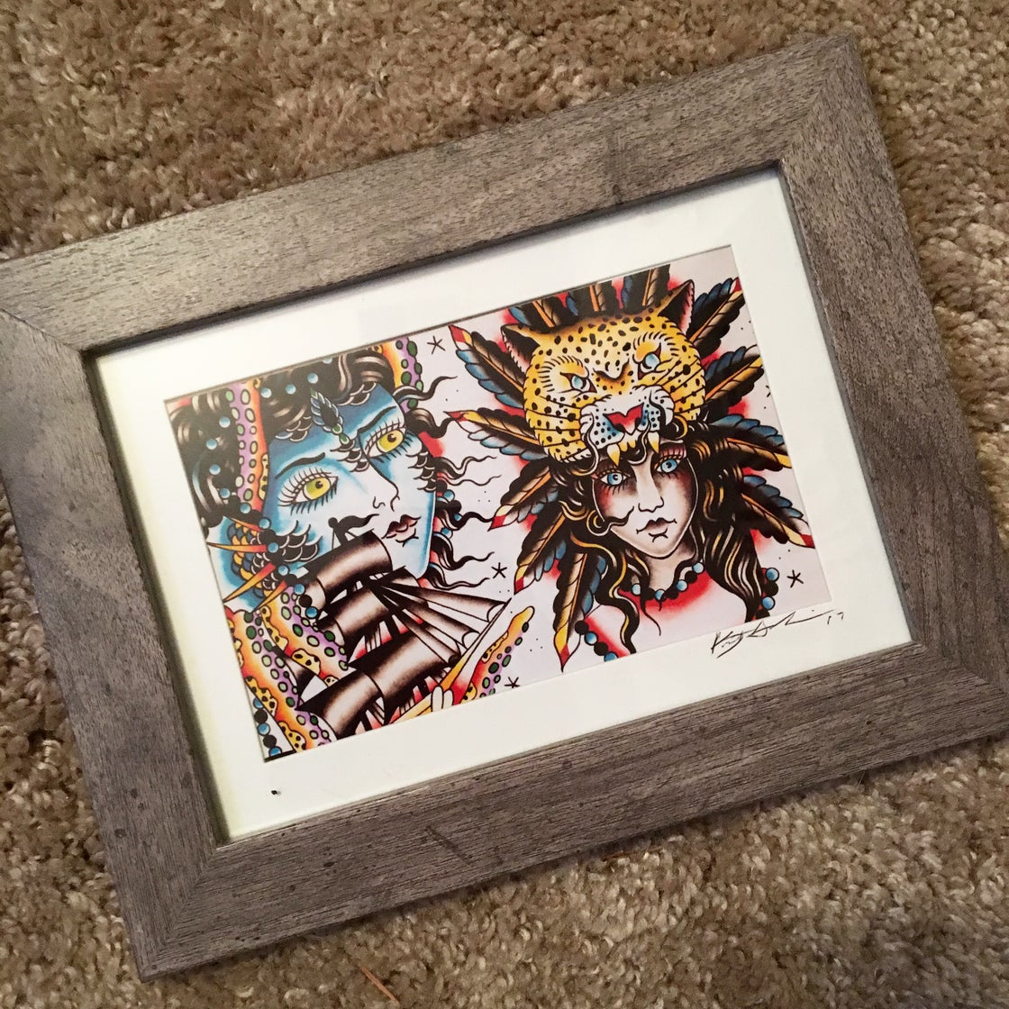 Image of KGART framed print