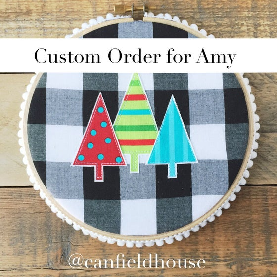 Image of Custom Order for Amy