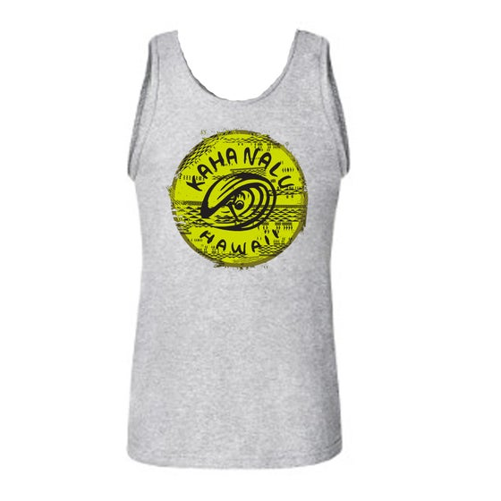 Image of Hawaiian tribal Tank top - gray