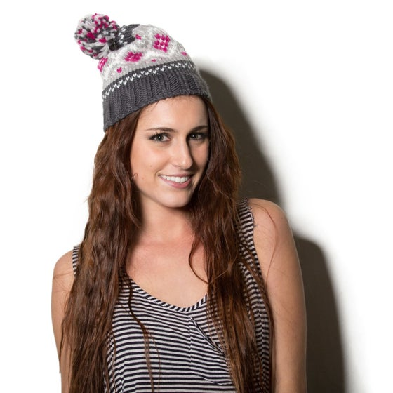 Image of Pom Pom Beani for Women/Girls