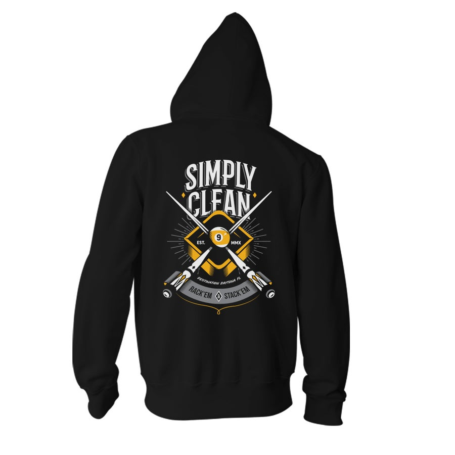 "Image of Unisex ""Simply Clean 9"" Zip Hoodie"