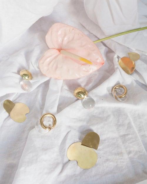 Image of Double Link Earrings