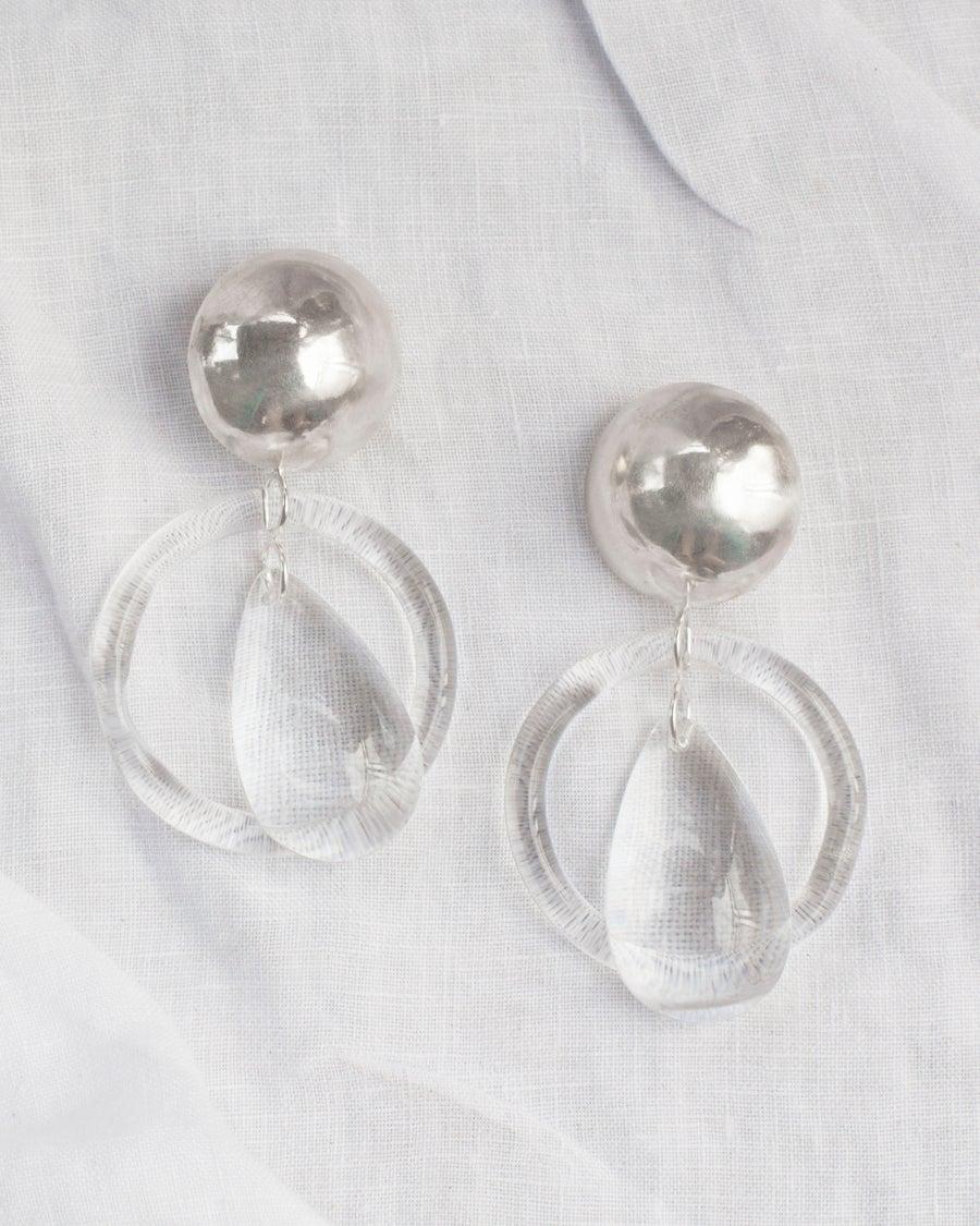 Image of Drop Loop Earring