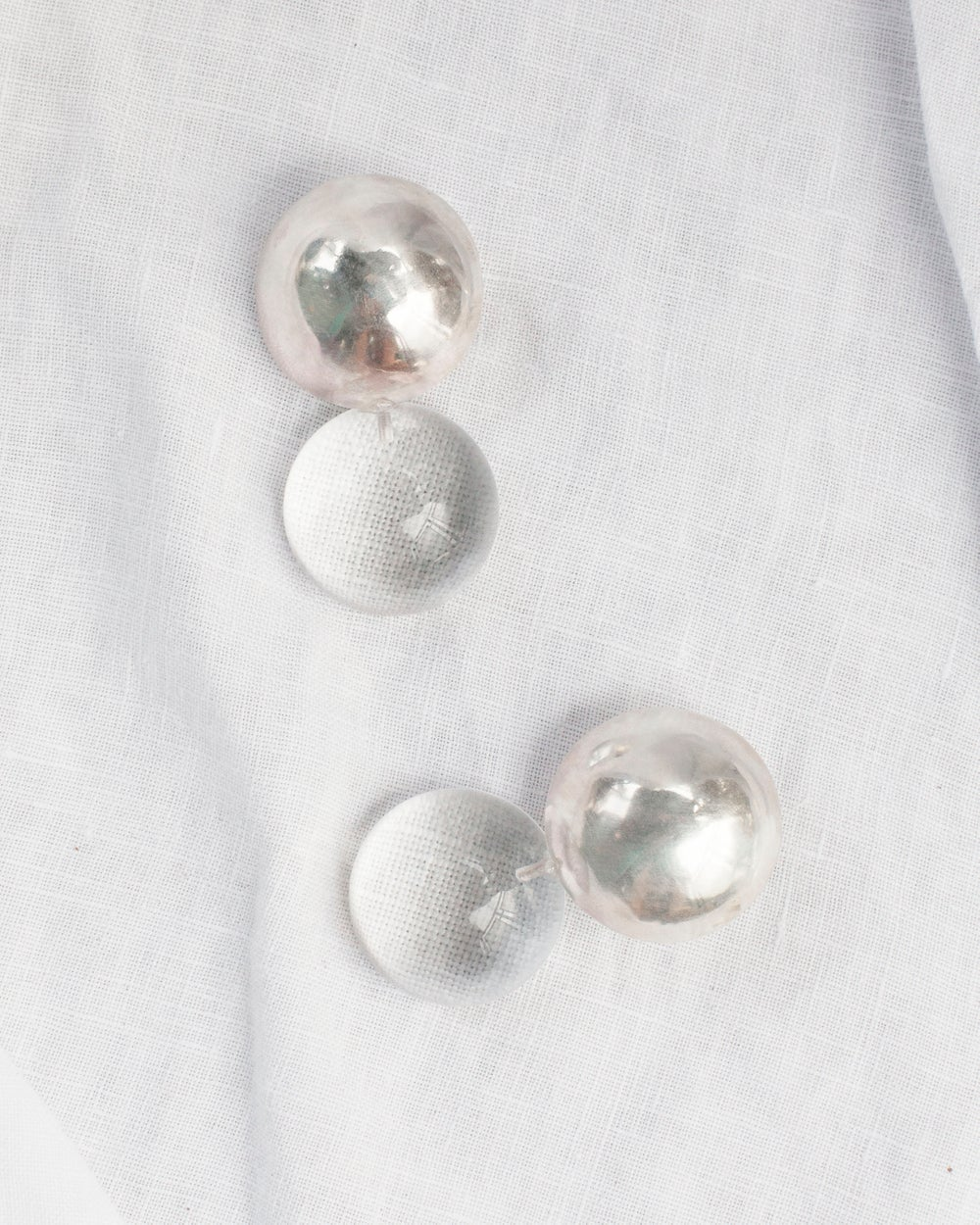 Image of Double Dome Earrings