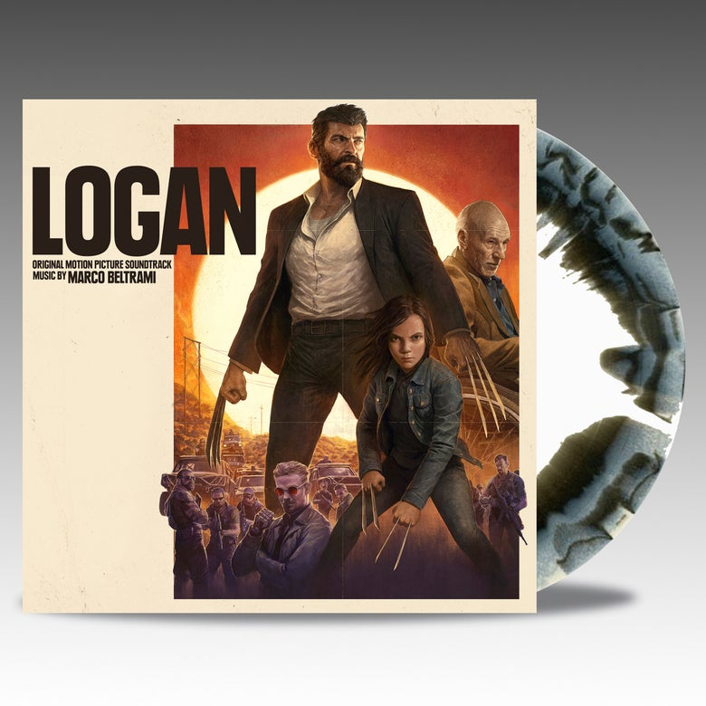 Image of Logan - Web-Shop Exclusive 'Noir Black/Bone' Vinyl - Marco Beltrami