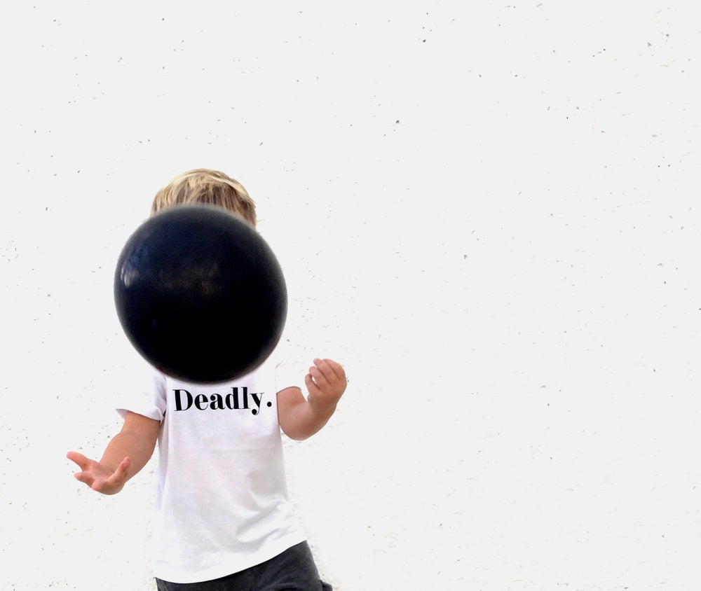 Image of Deadly Organic Kids Unisex T-shirts