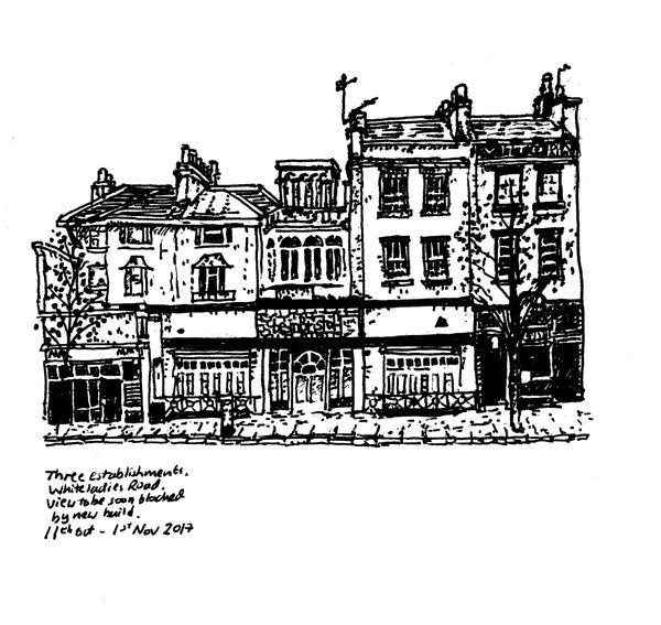 "Image of ""Whiteladies Road"" - Signed Digital Print"