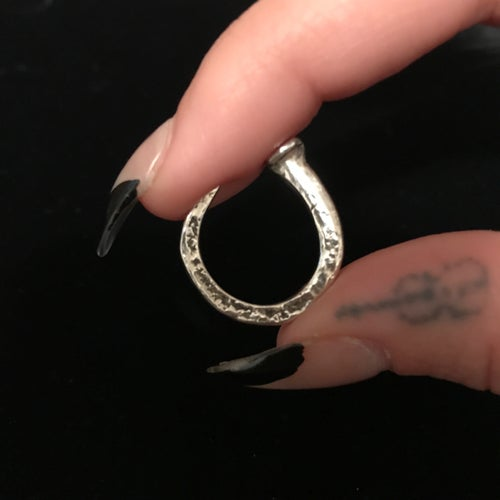Image of COFFIN NAIL RING