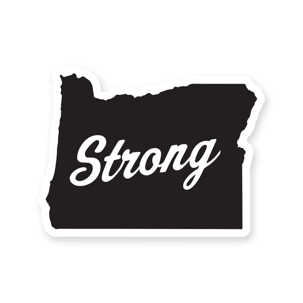 Image of Oregon Strong Logo Sticker