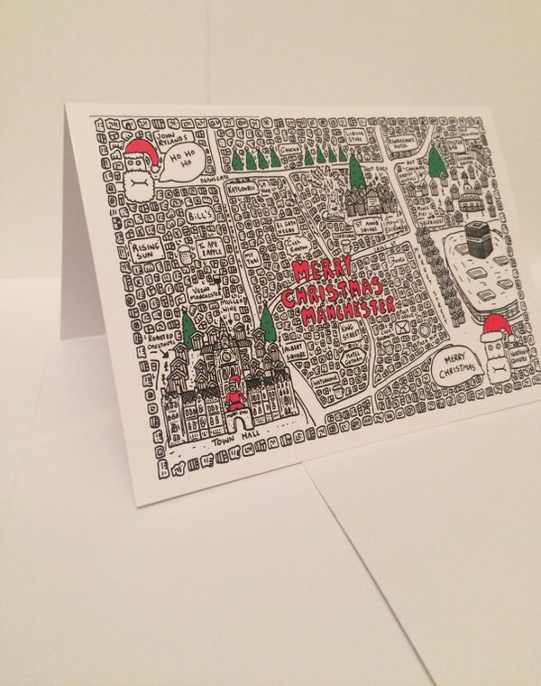 Image of Manchester Christmas Cards