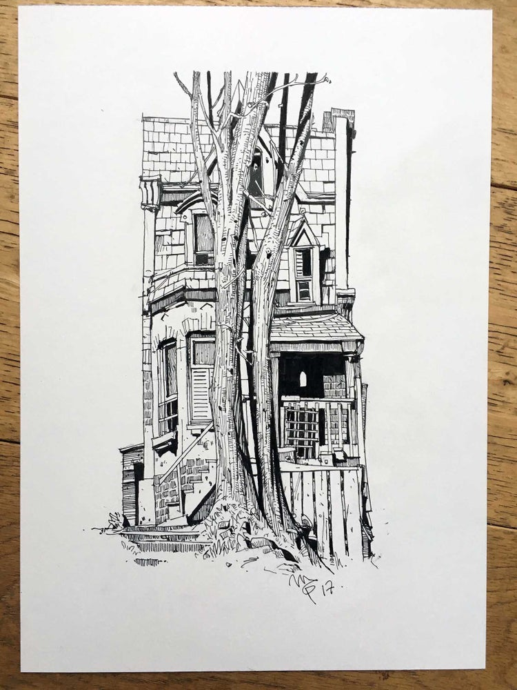Image of Haunted House Series no. 5 (Inktober 2017)