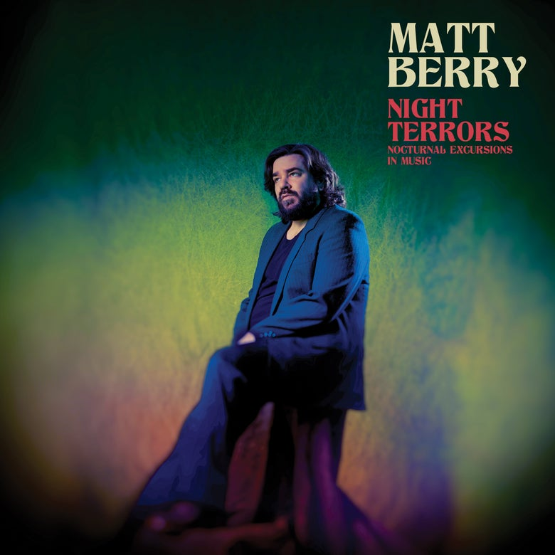 Image of Matt Berry - Night Terrors (Signed LP)