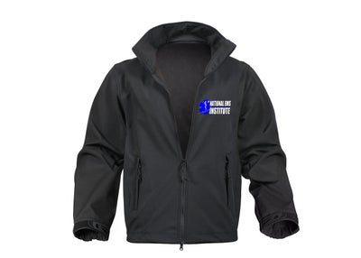 Image of Black Soft Shell Jacket