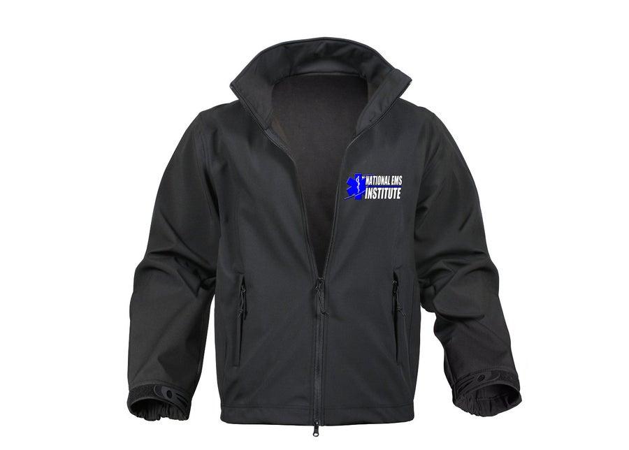 Image of Black Soft Shell Jacket