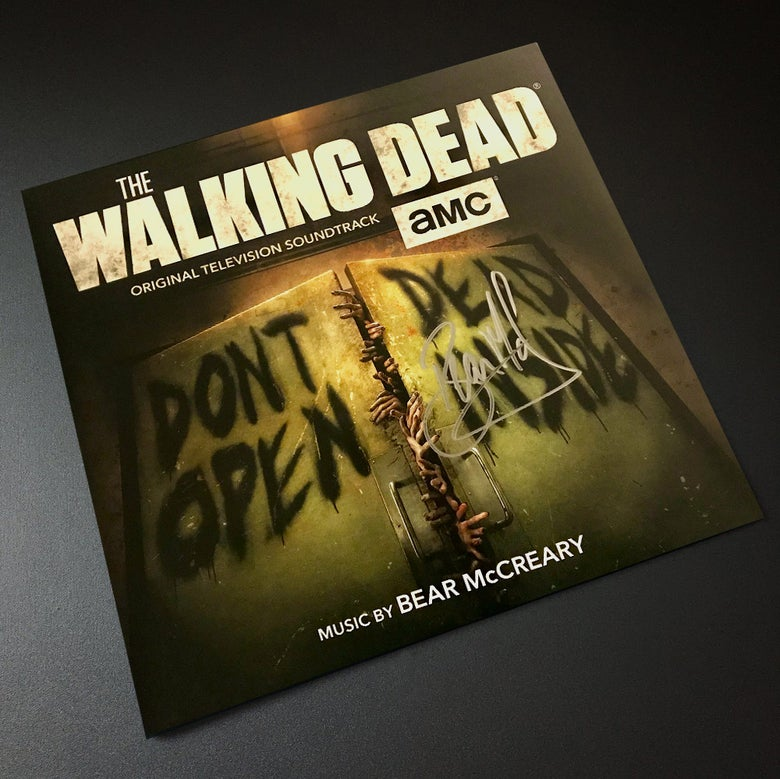 Image of The Walking Dead (Original Television Soundtrack) 'Signed Edition' - Bear McCreary