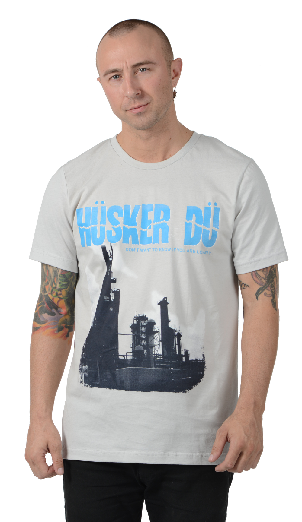 """Image of HÜSKER DÜ """"DON'T WANT TO KNOW IF YOU ARE LONELY"""" T-SHIRT"""