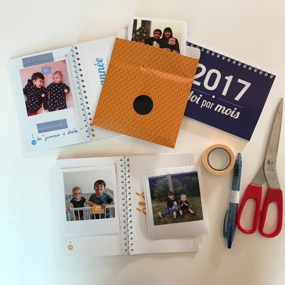 Image of Calendrier Annuel 2017 à customiser